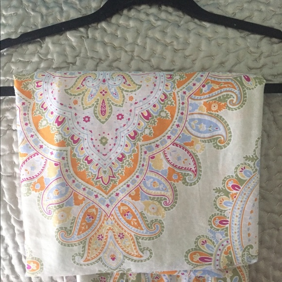 Paisley Pastel Shower Curtain Nicole Miller M 5b8afd28035cf157b862b23d